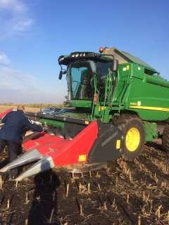 Maiskolven dorsen in Moldavie